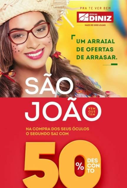 ATENÇÃO!! Aproveite as promoções e ofertas de São João da Óticas ... 3e14059999
